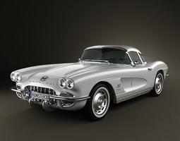 3D Chevrolet Corvette 1962