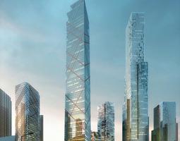 Skyscrapers 648 3D Models