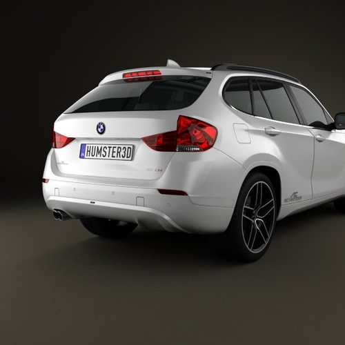 bmw x1 2010 ac schnitzer 3d model max obj 3ds c4d lwo lw lws ma mb. Black Bedroom Furniture Sets. Home Design Ideas