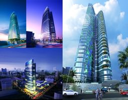 3d building 139