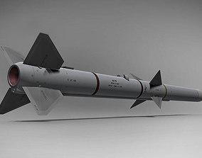 3D AIM-120B AMRAAM