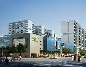 Shopping District 576 3D Models