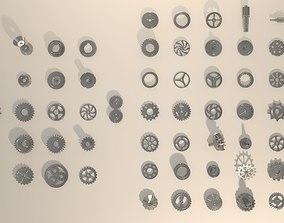 3D asset 52 Gears