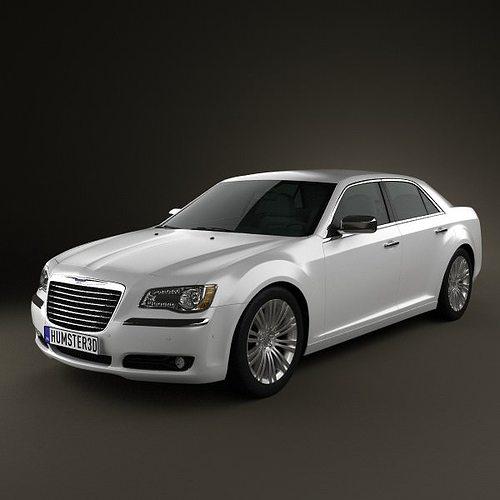 Chrysler 300 2011 3D Model