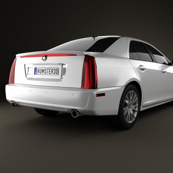Cadillac STS 2010 3D model   CGTrader