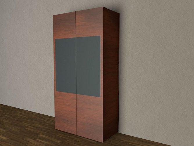 Closet 3d model cgtrader for Disenar closet en 3d gratis