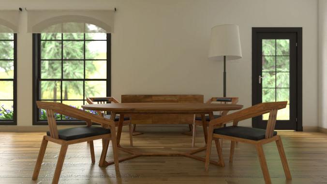 metropolitan furniture3D model