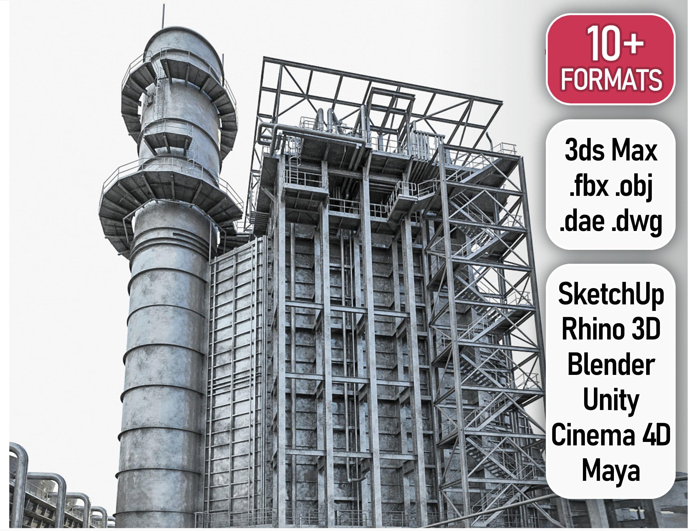 Gas Turbine Plant - Full Set