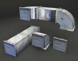 Duct 3d Models Cgtrader