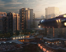 3D Roffola City