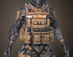 Grid_mech_soldier_3d_model_obj_17de5dc1-f644-4d7d-86fe-5f3dbe4ea34f