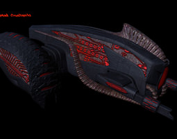 Grid_alien_fightership_3d_model_obj_8e605897-f712-4b06-9aa7-3d64fde1106a
