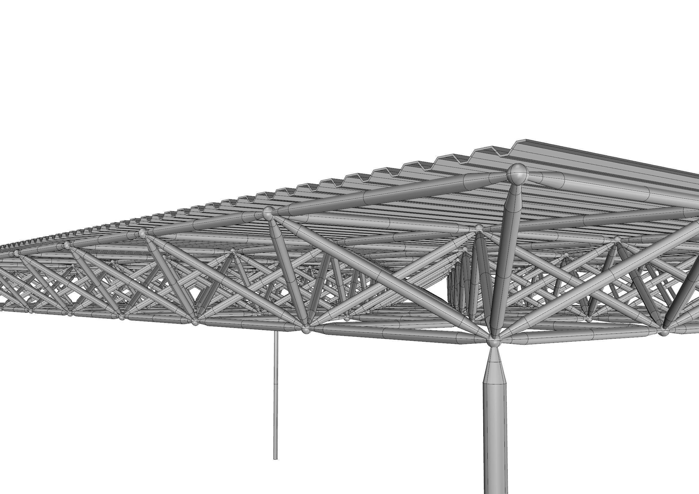 3D asset Spaceframe | CGTrader