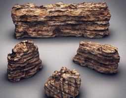 Rocks & Stones set 3 3D Model