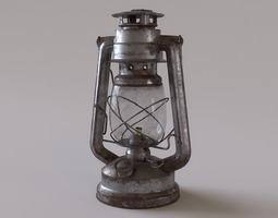 Rusty Storm Lantern 3D Model