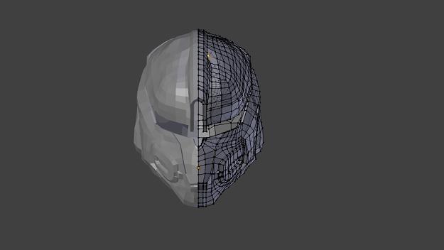 Odst Helmet 3d Model – Billy Knight