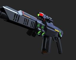 PG Pulse Rifle 3D model