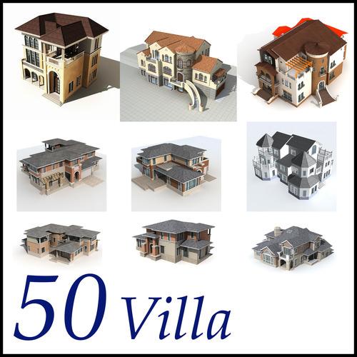 Villa Collection 50 items Vol13D model