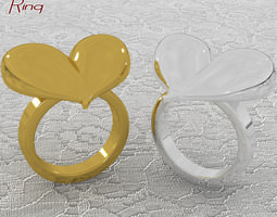 Romantica Ring 3D Model