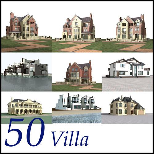 Villa Collection 50 items Vol43D model