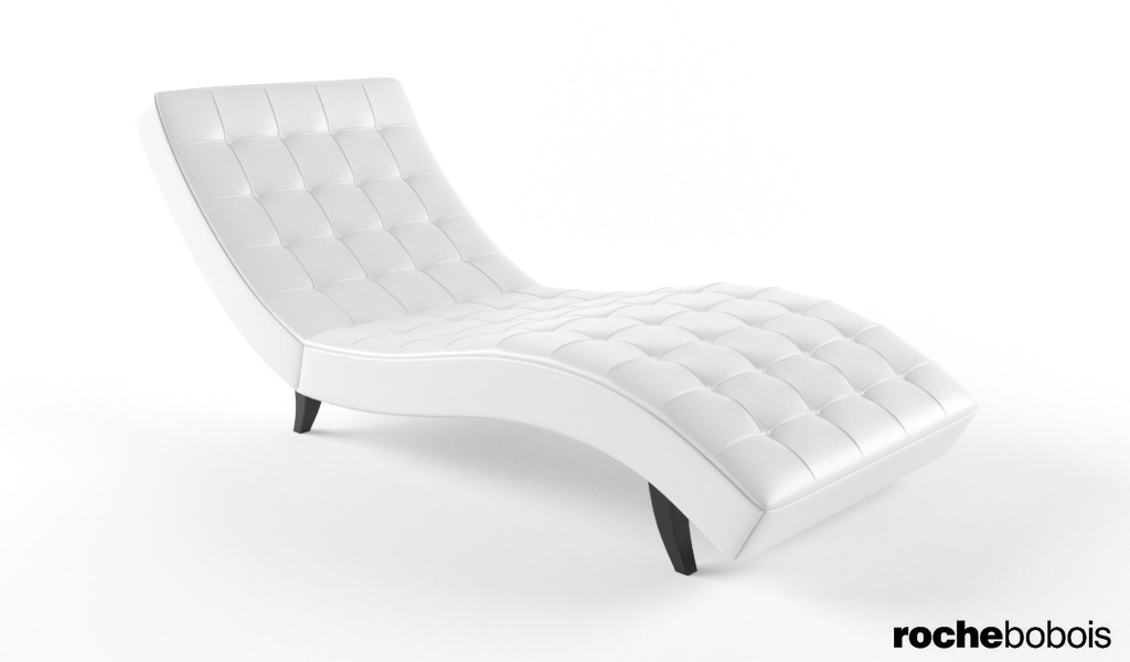 Roche bobois dolce chaise lounge 3d model max for Chaise longue roche bobois