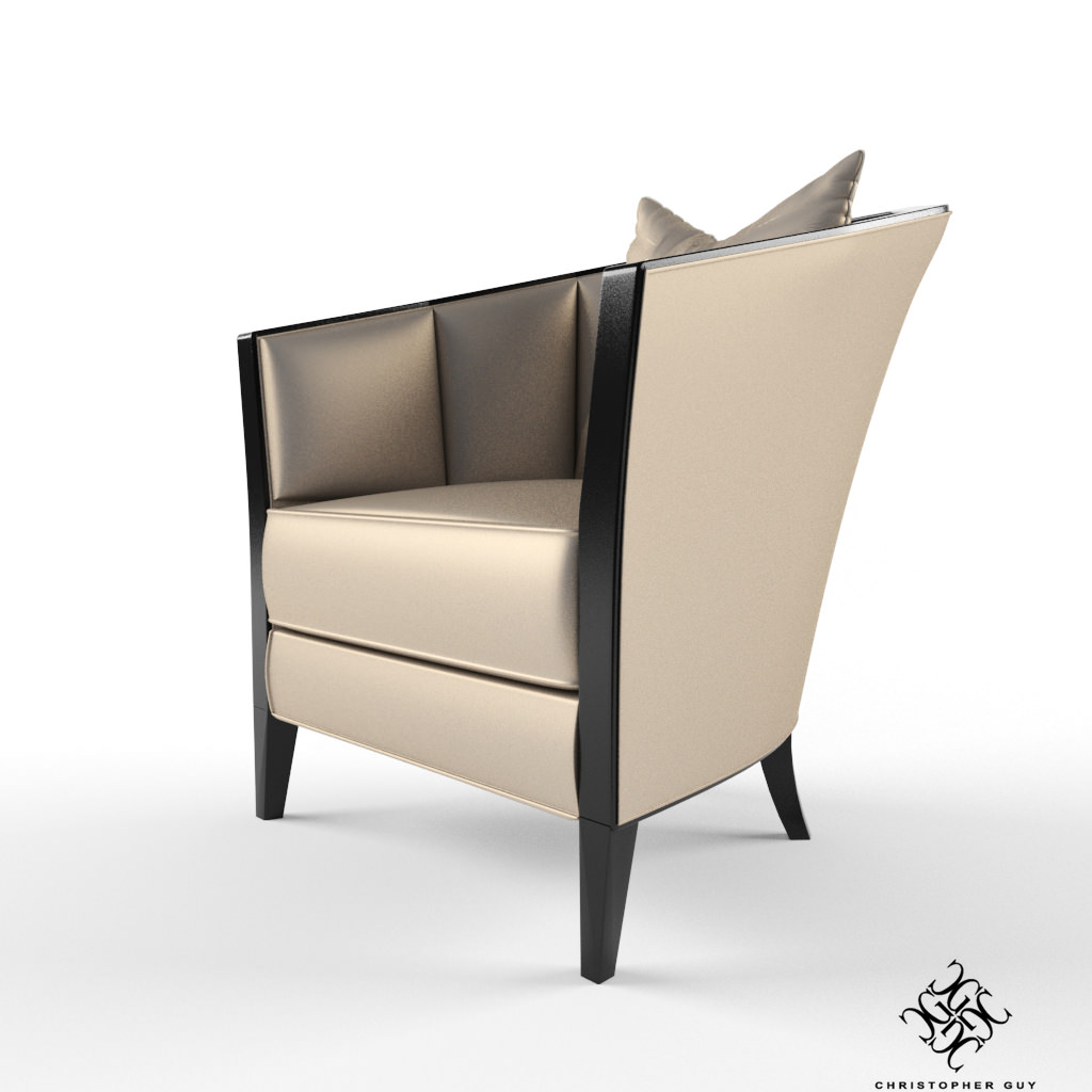 Christopher Guy Furniture Christopher Guy Iribe Armchair 3d Model Max
