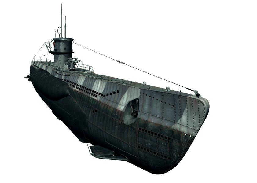 Type Viic U Boat 3d Model Max Lwo Lw Lws Cgtrader Com