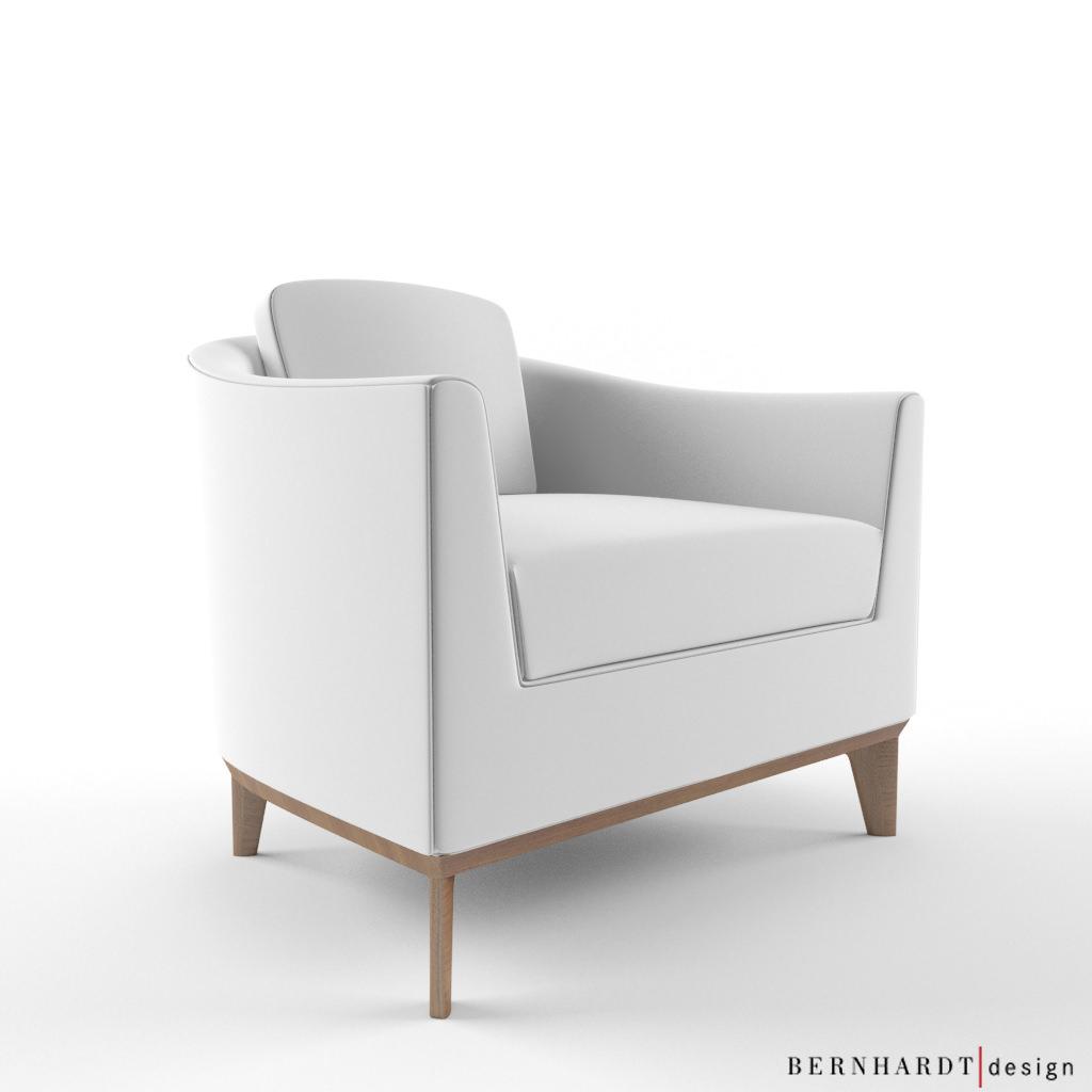Berhardt Design Chase armchair 3D Model x CGTrader
