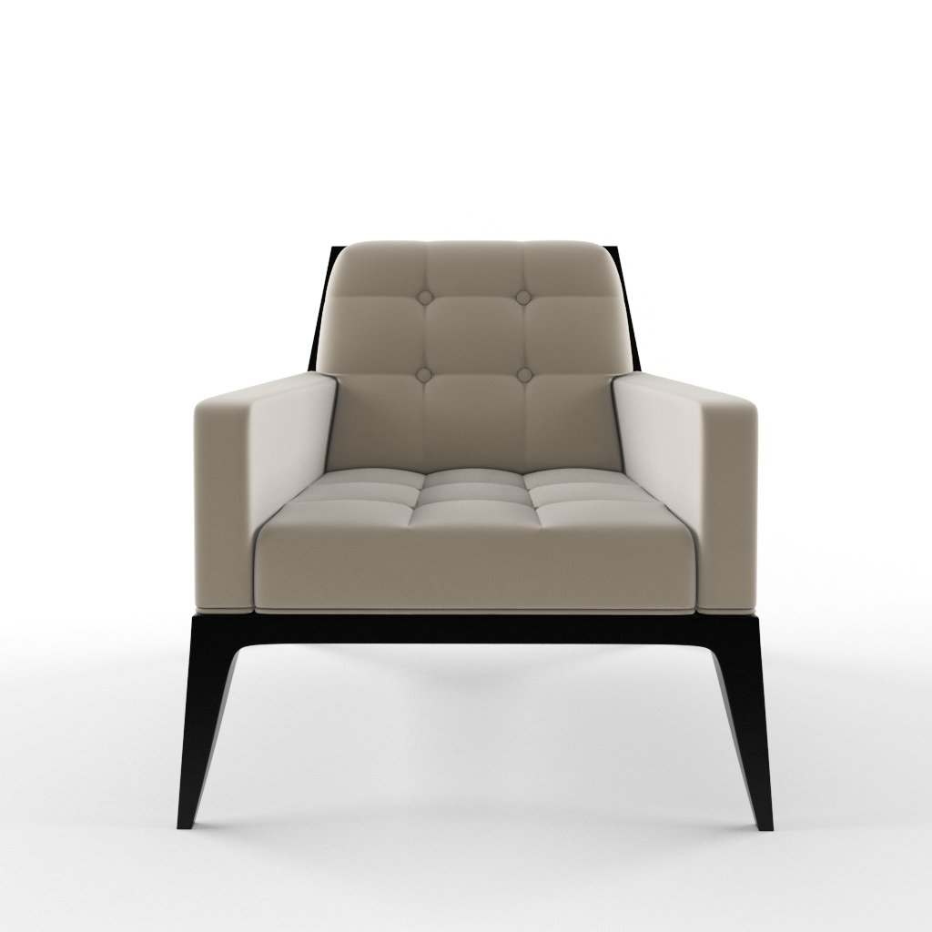 David Edwards Lolita Lounge chair 3D Model MAX