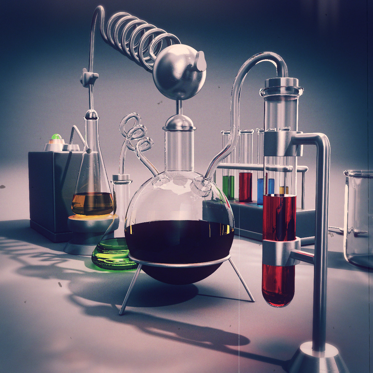 how lab equipment is used