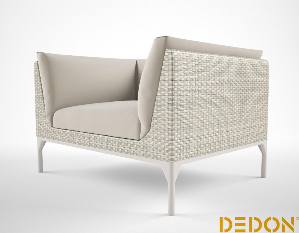 Dedon mu lounge chair 3d model max - Tu sofa a medida ...