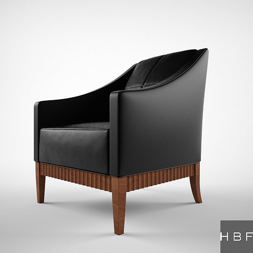 HBF Charlie Lounge seating 3D Model MAX