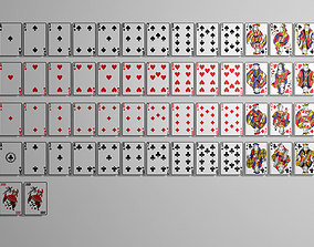 3D set Playing cards