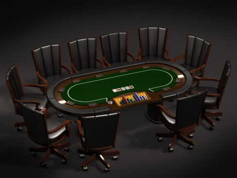 Poker Collection3D model