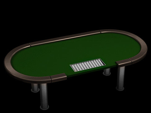 poker tournament table 3d model max obj 3ds c4d lwo lw lws ma mb 1