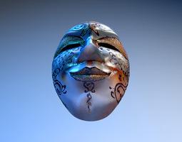mask venice carnival 3D Model