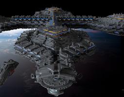 PG Orbital fortress 3D model