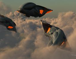 3D PG Predator fighters