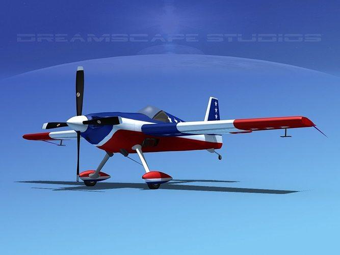 extra flugzeugbau ea300s  v04 3d model animated max obj mtl 3ds lwo lw lws stl dae 1