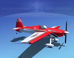 3d extra flugzeugbau ea300s v08 rigged