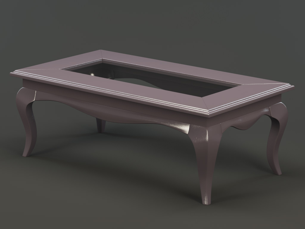 Coffee Table 3d Model Max