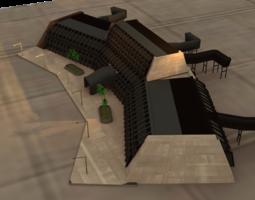 3D printable model Scifi Airspaceport
