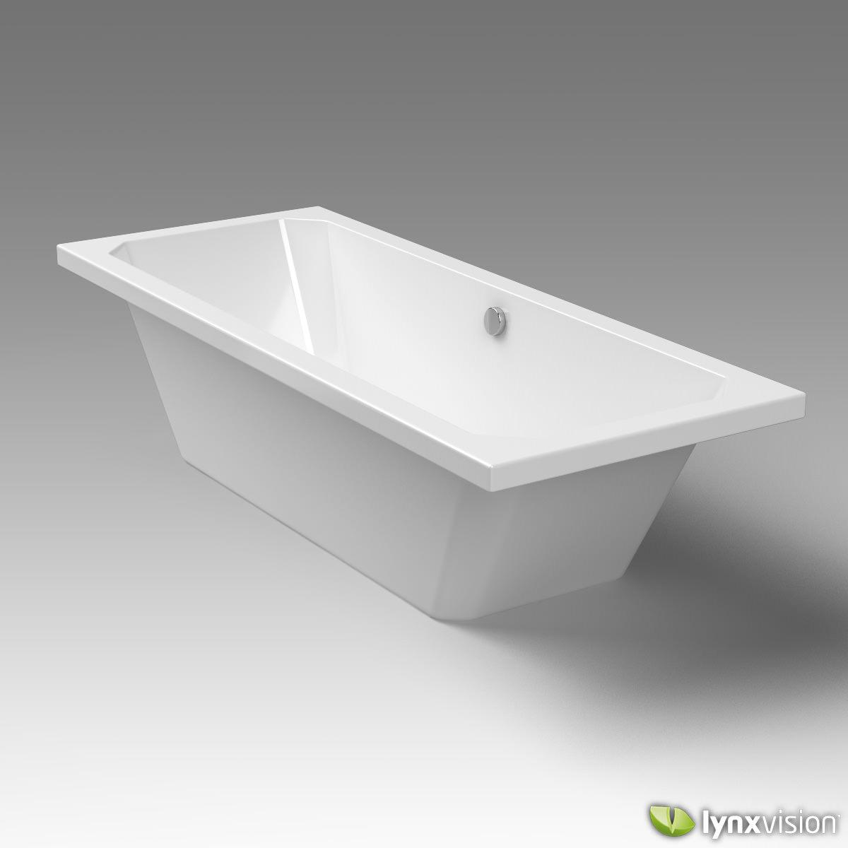 duravit bathtub 1930 series 3d model max obj fbx c4d. Black Bedroom Furniture Sets. Home Design Ideas