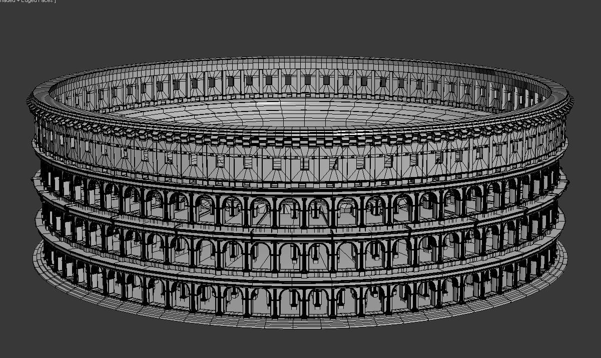 Roman Colosseum 3 3D Models