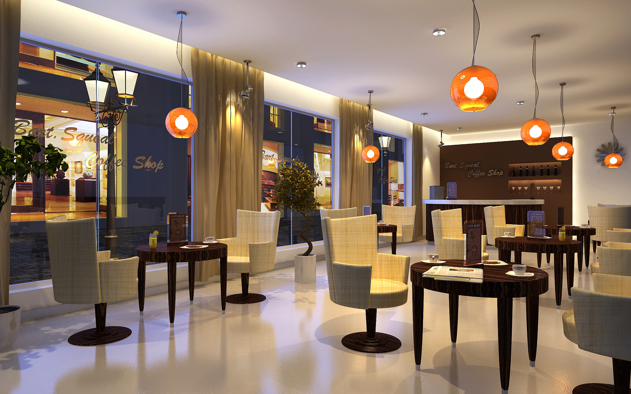 Superior Lounge With Exclusive Wall Decoration 3d Model Max 1 ... Design Inspirations