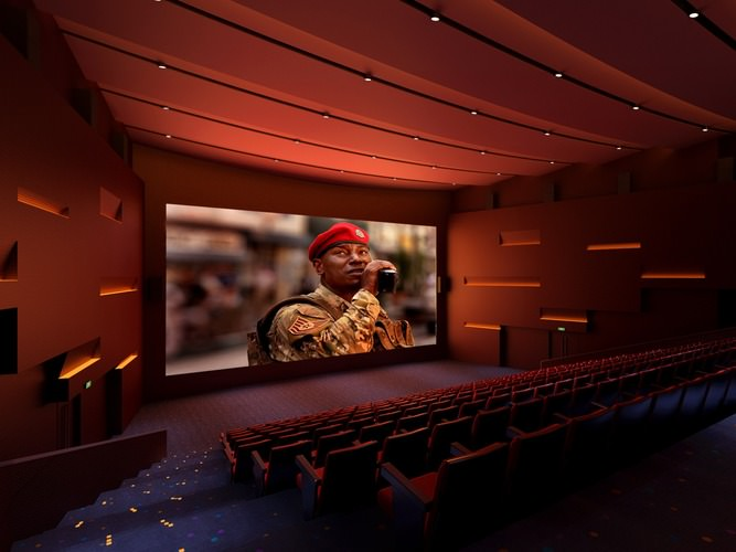 Fully Carpeted Grand Theatre3D model