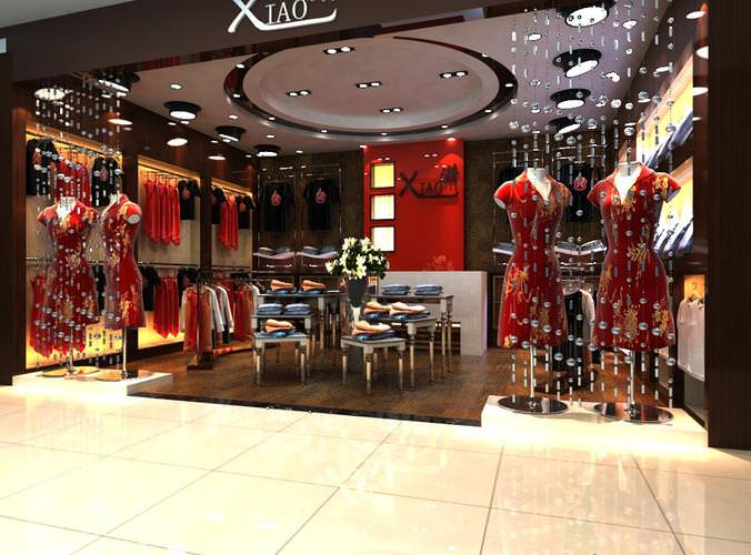 Modeling jobs for clothing stores