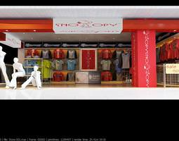 spacious snoopy store 3d