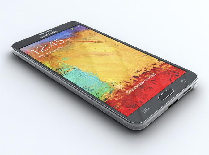 Samsung Galaxy Note 33D model