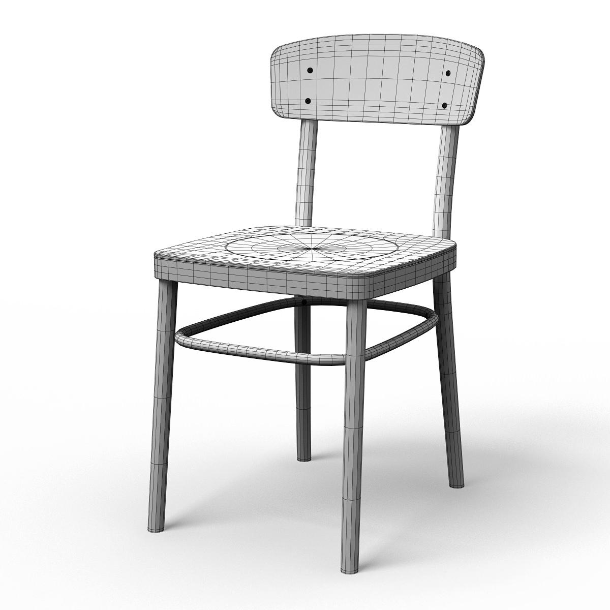 Idolf Dining Chair 3d Model Max Obj 3ds Fbx Cgtrader Com